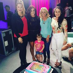 Kaitlyn Chelsea Leah with her daughter & Jenelle