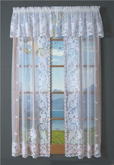 lace curtains door panels