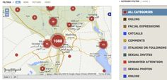 Screen shot of Egypt app, Harassmap