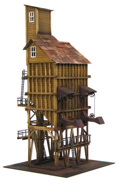 ho scale coaling tower plans | Scale Coaling Tower Kit | The Denver, Durango & Silverton Railroad