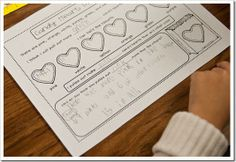 candy heart math (and making words)