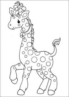 Is Your Child Fond Of Giraffe Here A Whole Set 20 Fun Free Printable Coloring Pages That Will Definitely Occupy Kids Time Productively