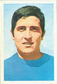 Giancarlo De Sisti of Italy. 1970 World Cup Finals card.