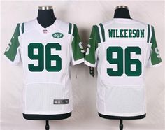 New York Jets 7 Geno Smith Elite White Jersey