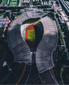 #architectureandearth  Amazing stadium in China  Dont forget to follow us [ @archi.earth ]   #stadium #football #nature #view #landscape #nature #architecture #arquitetura #design #earth #city #picoftheday #picture #pictureoftheday #art #walking #trip #travel #journey #weekend #archigram #archiporn #realestate #immobilier