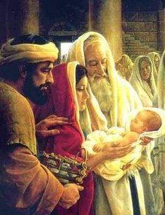 Io e un po' di briciole di Vangelo: (Lc 2,22-35) Luce per rivelarti alle genti.