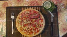 Pizza & mojito