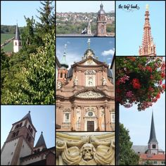 Würzburg: Churches, domes and spires http://www.thetinybook.com/unexpected-wurzburg/