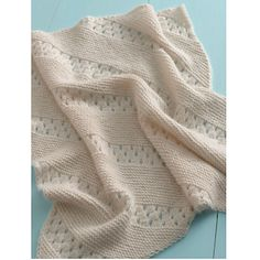 Ravelry: Treasured Heirloom Baby Blanket pattern by Lion Brand Yarn
