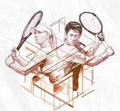 Kei Nishikori, Maria Sharapova and the Champs Elysées on May 18th | TAG Heuer