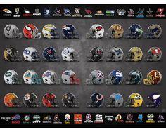 Artist Redesigns Every NFL Helmet With Superheroes Instead