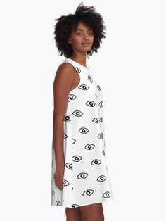 """""""The Eye That Sees it ALL. """" A-Line Dress by DinksiStyle   Redbubble"""