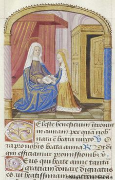 Prayer book, MS H.3 fol. 183v - Images from Medieval and Renaissance Manuscripts - The Morgan Library & Museum