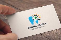 Dental Healty Logo by tkent on @creativemarket