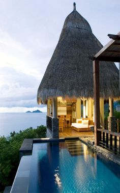 Maia Luxury Resort I Seychelles, an African archipelago nation north of Madagascar in the Indian Ocean.