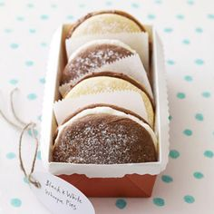 Black-and-White Whoopie Pies Recipe - Redbook #redbookparty