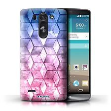 STUFF4 Case/Cover for LG G3 S/D722/Colour Cube/Blue/Pink