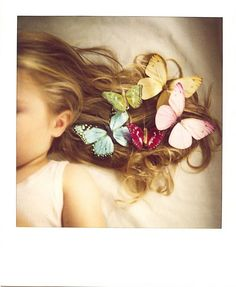 butterflies. Just love this; love creative photography of little ones.