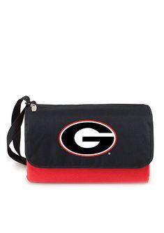 Georgia Bulldogs Blanket Tote