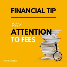 Financial Tips, Financial Literacy, Pay Attention, Finance, Economics