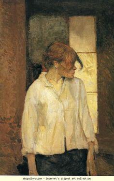 At Montrouge (Rosa La Rouge). 1886-87. Oil on canvas. 72.3 x 49 cm. Barnes Foundation, Lincoln University, Merion, PA, USA