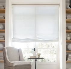 Restoration Hardware Relaxed Roman Shades
