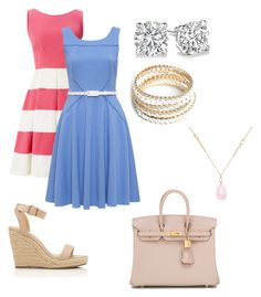 """""""Barbecue"""" by brenna-mccarty on Polyvore featuring Kate Spade, Hermès, ZooShoo and White House Black Market"""