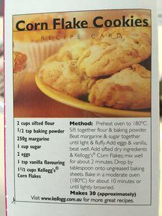 Corn Flake Cookies                                                                                                                                                                                 More