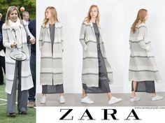 4/21/17*Zara Stripe Duster Long Coat