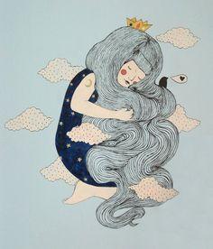 girl - hair