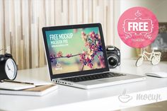 Free Mockup MacBook Pasadena