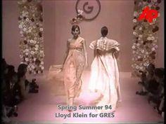 Lloyd Klein for Gres Paris - Spring| Summer 1994 - Runway Central | photos|videos - Lloyd Klein