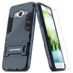 COVRWARE Samsung Galaxy Grand Prime Case - Slim Series Armor Protective Case Wit