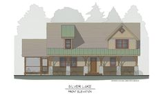 Silver Lake Timber Frame Home Design