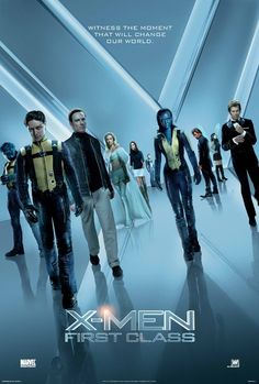 X-Men: First Class (I'm not a fan of Xmen but since James Mcavoy starred in this movie, I made an exception. Nice movie.)
