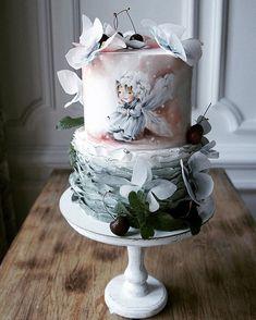 Gorgeous Cakes, Pretty Cakes, Amazing Cakes, Cupcakes, Cupcake Cakes, Birtday Cake, Fantasy Cake, Cake Topper Tutorial, Modern Cakes