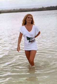 Dalida, Platinum Grey, Glamour, Famous Celebrities, Jet Set, Grey And White, Pin Up, Brave, White Dress