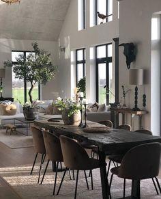 Loft Interior, Home Interior Design, Living Room Decor, Living Spaces, Lofts, Best Decor, Decoration Table, Decor Diy, Spring Home