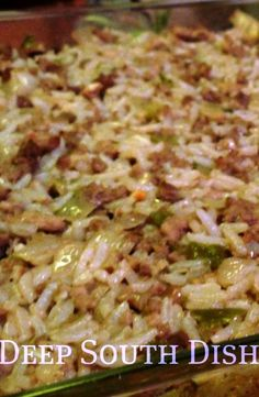 Cajun Rice Dressing (or Dirty Rice)