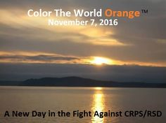 Color The World Orange on Nov. 7, 2016 #CRPSORANGEDAY www.colortheworldorange.com