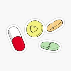 Pharmacy stickers featuring millions of original designs created by independent artists. Pharmacy Humor, Pharmacy Technician, Printable Stickers, Cute Stickers, Homemade Stickers, Simple Line Drawings, Tumblr Stickers, Happy Pills, Get Well Cards