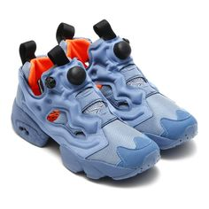 4e3ee71db369 Reebok Instapump Fury Tech Arrives In Two Shades Of Blue - SneakerNews.com  Blue Orange