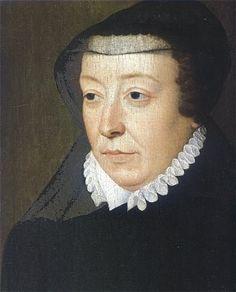 1565 Francois Clouet Catherine de' Medici (1519-89), Queen of France (1547-59)