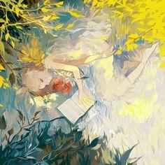 Vocaloid - Rin Kagamine (鏡音 リン) -「夏」/「绫濑夜邪」のイラスト [pixiv]