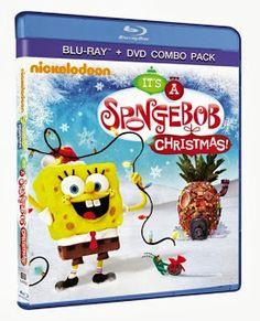 sugar pop ribbons reviews and giveaways spongebob squarepants its a spongebob christmas blu ray and dvd combo review giveaway - Spongebob Christmas Who