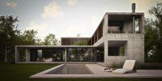 Amado Cattaneo Arquitectos - Casa estilo actual racionalista / Arquitecto - PortaldeArquitectos.com