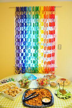 A Wedding Story: First Birthday Craft & diy Projects