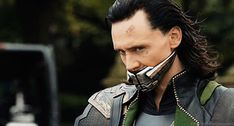 Pin for Later: 33 Reasons Tom Hiddleston Is the Best Part of The Avengers He even looks kinda sexy with a muzzle on.