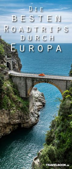 Die 9 besten Roadtrips durch Europa Abenteuer reisen - Tap the link to shop on our official online store! You can also join our affiliate and/or rewards programs for FREE! Travel Through Europe, Travel Around The World, Around The Worlds, Travel Europe, Places To See, Places To Travel, Travel Destinations, Wanderlust Travel, Europa Tour