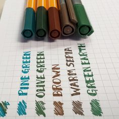 Comparisons: Stabilo 88′s vs Staedtler Fineliners | Calvin Was Right Top 3 stabilo Bottom 2 staedtler